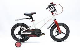 Детский велосипед магниевый 16 дюймов стальная вилка