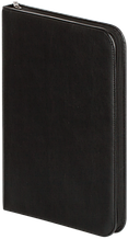 Папка черная, 35х26,4х4 см, искусственная кожа