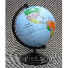 Глобус 110мм политический