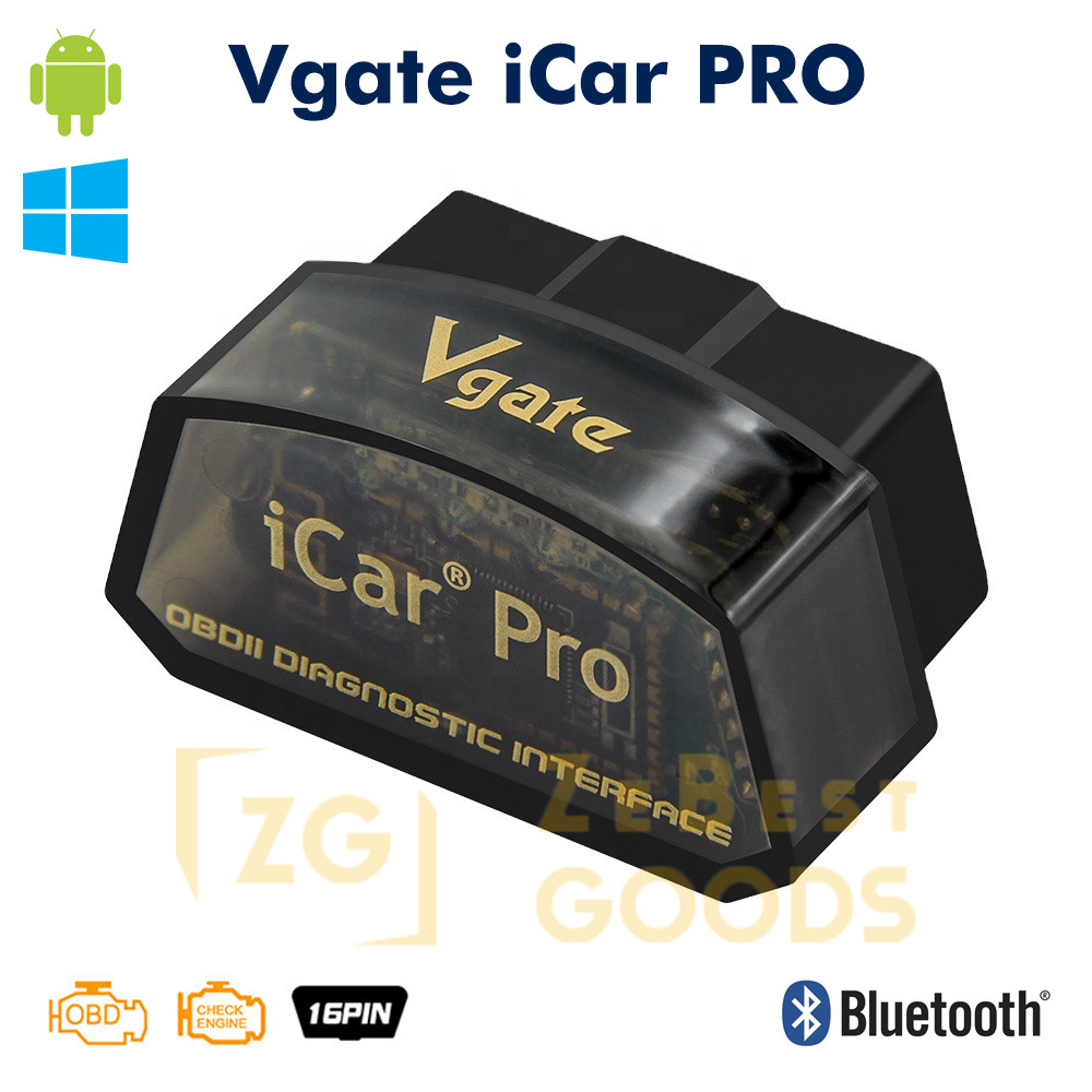 Автосканер Vgate iCar PRO OBD2 ELM327 v2.2 OBD2 Bluetooth 3.0
