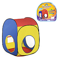 Дитячий ігровий намет Будиночок 75 х 72 х 100 см в сумці, фото 2