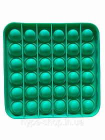 Поп Іт Антистрес Іграшка POP IT Зелений Квадрат