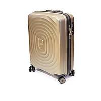 Пластикова валіза Snowball мала, 35 л шампань, фото 1