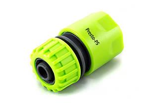 Конектор Presto-PS для шлангу 1/2-5/8 дюйма без аквастопа (5809G)