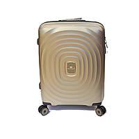 Легка поліпропіленова валіза малого розміру Snowball шампань, фото 1