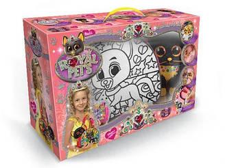 """Набір креативного творчості """"ROYAL PET'A S"""" сумочка-розмальовка + котик RP-01-01U"""