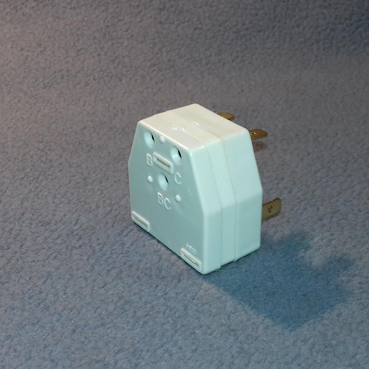 Реле ПЗР-04-4.8 0.5 А для пуску компресора холодильника Норд і Дніпро (Україна)