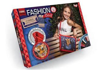 """Вишивка гладдю """"Fashion Bag: Тигреня"""" FBG-01-03"""