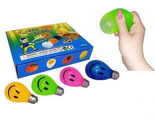 """Набір антистрес іграшок """"Лампочка"""", 12 штук MLLamp7"""