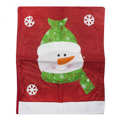"""Новогодний мешочек для подарков """"Снеговик"""" C30208"""