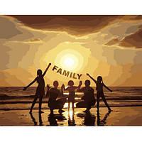 """Картина по номерам """"FAMILY"""" VA-2658"""