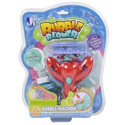 """Пистолет с мыльными пузырями """"Bubble Machine"""", красный P8918"""