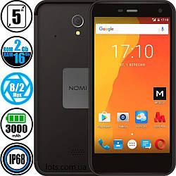 Смартфон Противоударный Nomi i5071 (2/16GB) Black