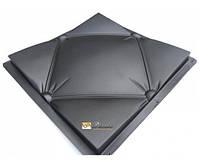 """Пластиковая форма для изготовления 3d панелей """"Подушка"""" 50*50 (форма для 3д панелей из абс пластика)"""