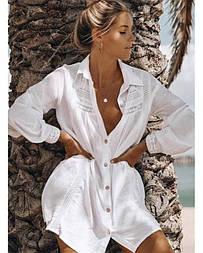 Туніка пляжна на гудзиках