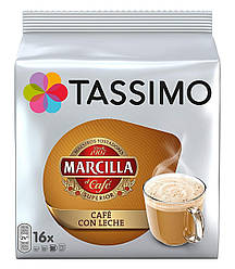 Кофе в капсулах Тассимо - Tassimo Marcilla CAFE CON LECHE (16 порций!!!)