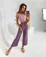 """Штани жіночі молодіжні літні, розміри S-XL (6кол) """"IRINA"""" недорого від прямого постачальника"""