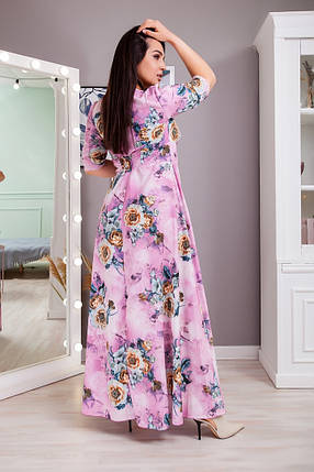 Жіноча літня сукня великого розміру, 50-52, фото 2
