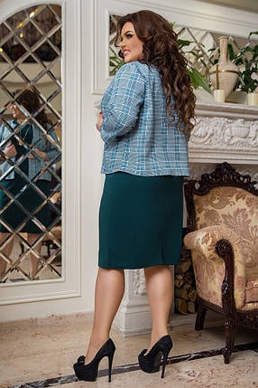 Жіноча сукня з піджаком батал, 50-52, фото 2