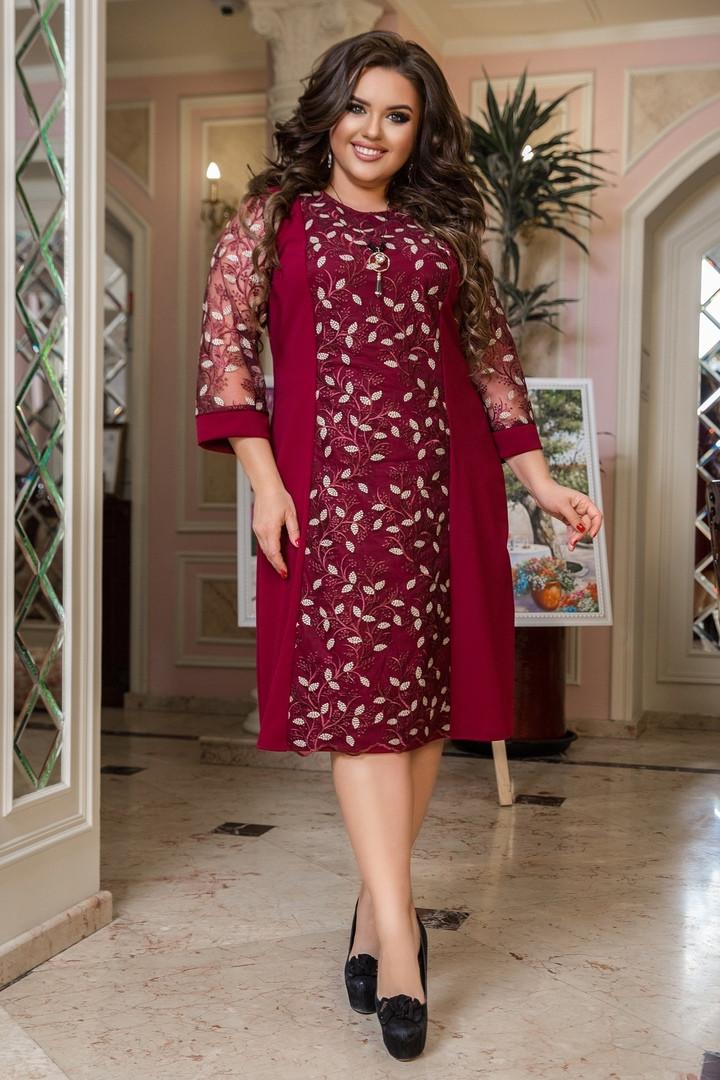 Жіноча святкова сукня великих розмірів, 50-52