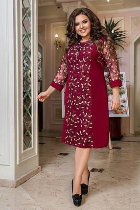 Жіноча святкова сукня великих розмірів, 50-52, фото 2