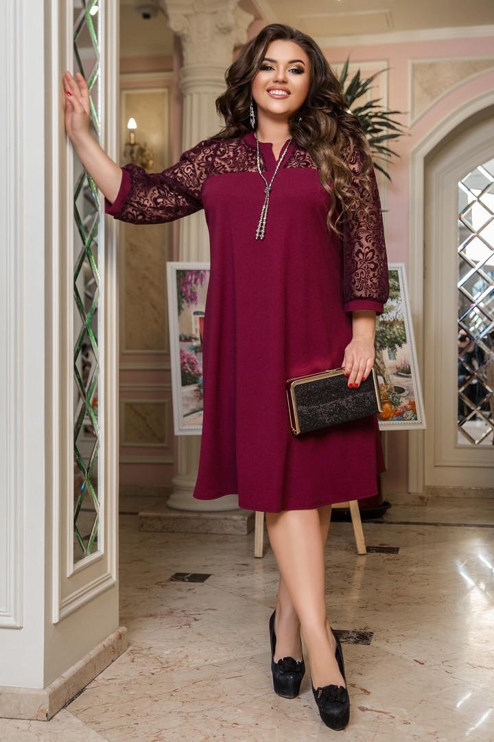 Жіноча вечірня сукня великих розмірів, 50-52