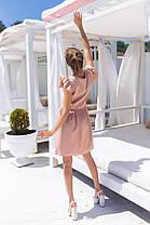 Жіноча бежева літня сукня, 42-44, фото 3