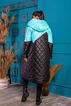 Жіноче зимове пальто батал, 48-50, фото 3