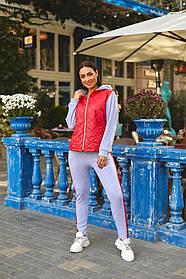 Жіночий теплий спортивний костюм батал, 48-50