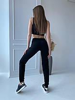 Жіночі чорні брюки, 42-44, фото 2