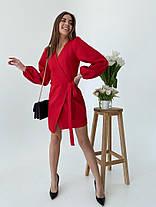 Жіноча коротка червона сукня, 42-44, фото 3