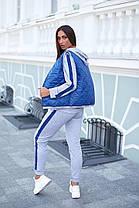 Жіночий спортивний костюм трійка, 48-50, фото 3