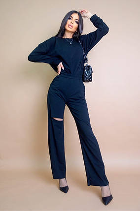 Жіночий модний брючний костюм, 42-44, фото 2
