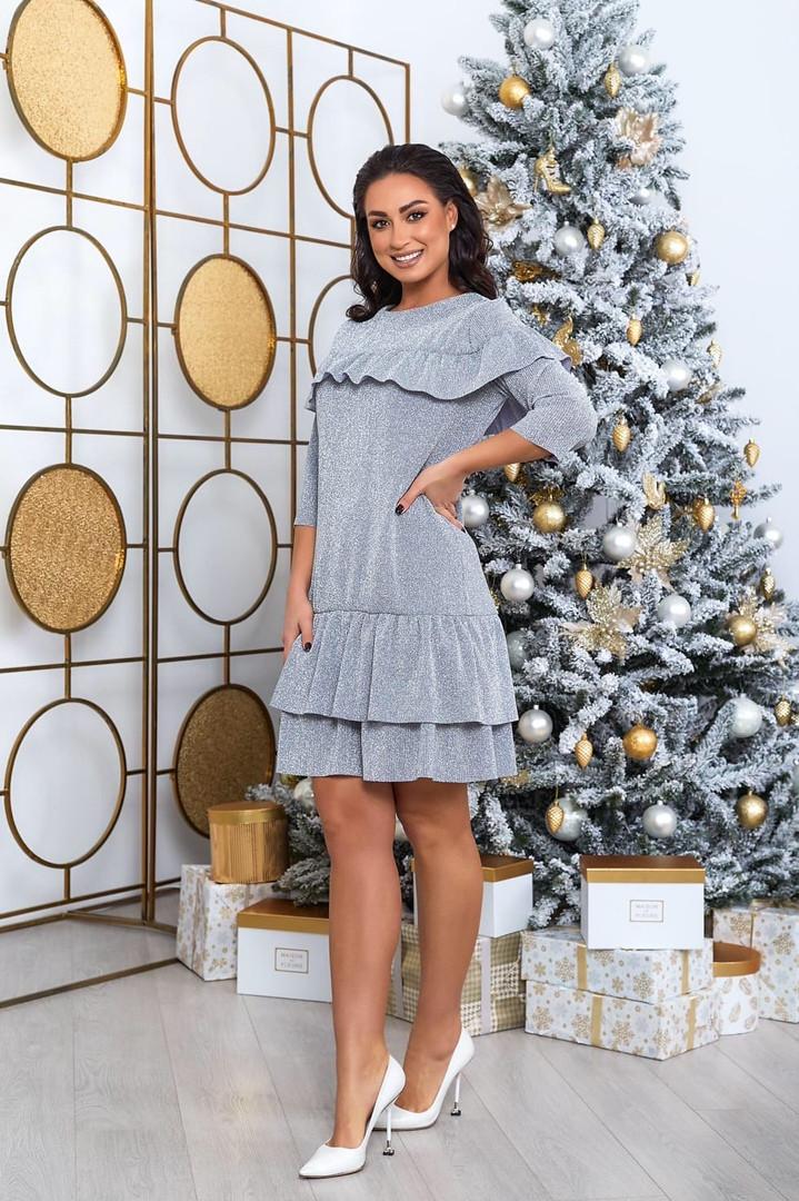 Жіноча красива сукня батал, 50-52