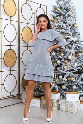 Жіноча красива сукня батал, 50-52, фото 2