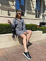 Жіноча сукня-сорочка в клітинку, 42-46, фото 2