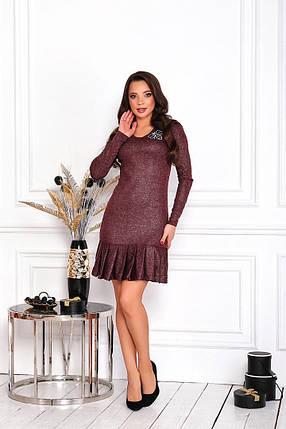 Жіноча облягаюча коротка сукня, 42, фото 2