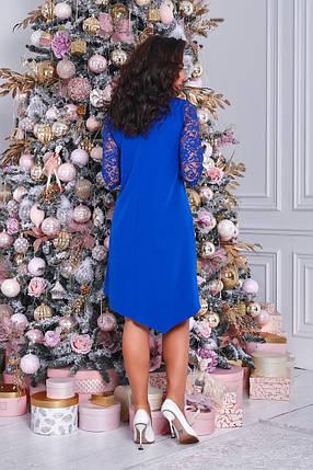 Жіноча сукня с гіпюром батал, 50-52, фото 2