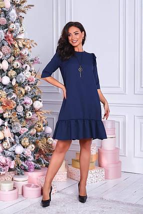 Жіноча вільна сукня батал, 50-52, фото 2