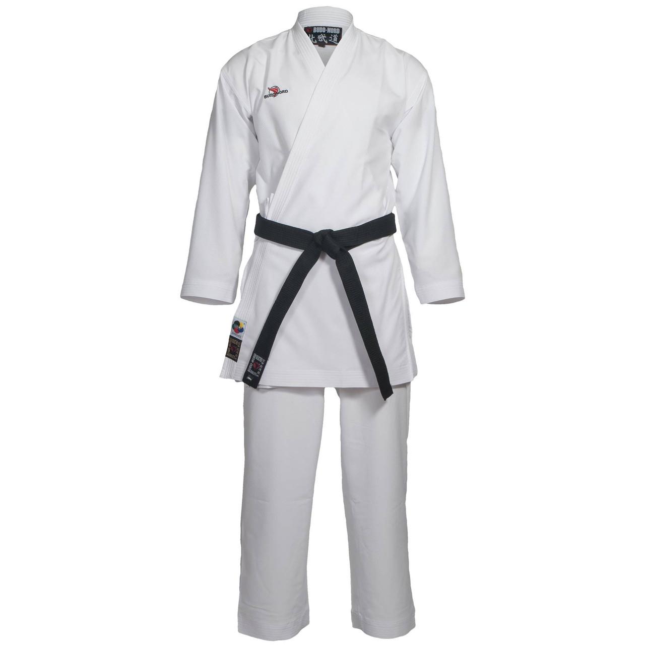 Кимоно Budo-Nord AGOYA WKF APPROVED slimfit 180 см White M