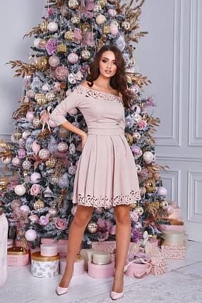Жіноча коротка вечірня сукня, 42-44, фото 2