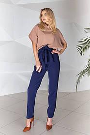 Жіночі сині брюки, 42-44