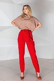 Жіночі червоні брюки, 42-44