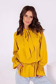 Жіноча гірчична блуза, 42-44