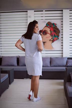 Жіноча повсякденна сукня батал, 48-50, фото 2