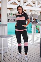 Жіночий літній спортивний костюм батал, 48-50, фото 2