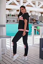 Жіночий літній спортивний костюм батал, 48-50, фото 3
