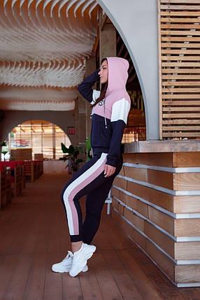Жіночий спортивний костюм з капюшоном, 48-50, фото 2