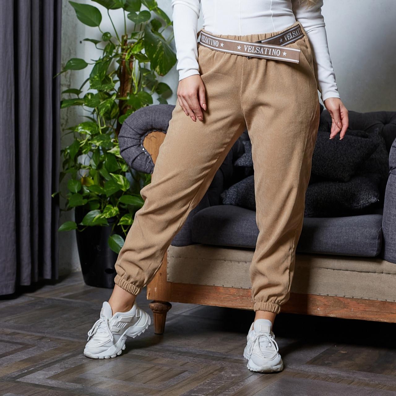 Жіночі брюки джогери батал, 50-52