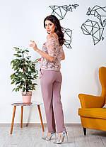 Жіночий ошатний костюм, 42-44, фото 3